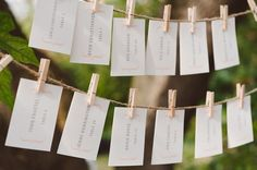 9 Unique Ways to Display Your Escort Cards - Project Wedding