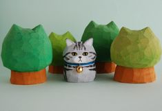 3d Character, Character Design, Kawaii Room, Shrinky Dinks, Cat Doll, Automata, Cute Creatures, Ceramic Clay, Clay Creations