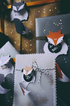 Faire ses étiquettes uniques pour Noël
