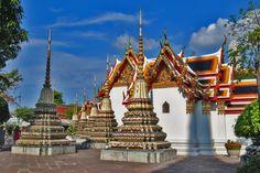 Bangkok - Wat Pho (Temple of the Reclining Buddha)