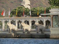 Lac Pichola. Pour plus d'infos, consultez www.voyageinindia.fr
