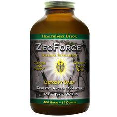Healthforce ZeoForce Zeolite is a non-toxic, deeply detoxifying, earth clay that…