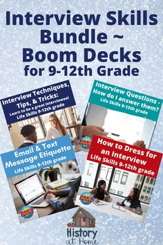 This bundle includes my super popular - Interview Techniques, Tips,
