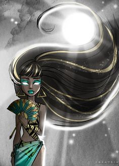 Inspired by Fields Of The Nephilim – Mourning Sun Cleo de Nile Gloom Beach serie (Monster High) Mourning Sun Monster High School, Monster High Art, Monster High Dolls, Ever After High, Personajes Monster High, Monster High Pictures, Fanart, Creation Art, Cute Monsters