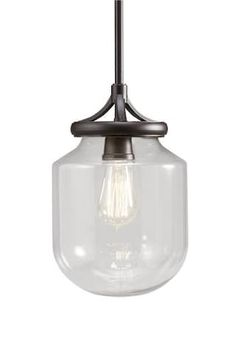 Patriot Lighting® Judd 13  Olde Bronze 1-Light Mini Pendant at Menards®  sc 1 st  Pinterest & Resto 1-Light 11-1/2