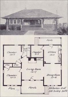 Voorhees Architect, Eitel Bldg-Seattle. Hip roof house plan