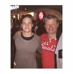 Kygo and his daddy... Kyrre Gørvell-Dahll
