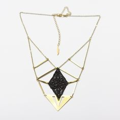 Vendetta necklace — This Ilk - Vintage lace statement jewelry
