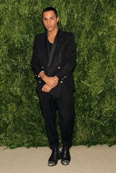 CFDA And Vogue 2013 Fashion Fund Finalists Celebration - Arrivals Vogue Fashion, High Fashion, Fashion Show, Black Fashion Designers, African American Fashion, Olivier Rousteing, Couture Fashion, Street Wear, Street Style