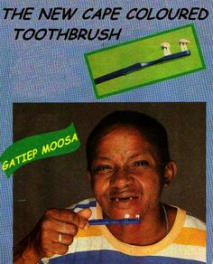 SA - new toothbrush - joke from South Africa