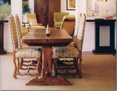 love this table and chairs from laurie smith's home