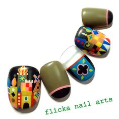 Mary Blair nail art