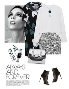 Marni floral print coat by lera-chyzh on Polyvore featuring polyvore fashion style Acne Studios Marni WearAll Yves Saint Laurent Versace Chanel LogoArt By Terry Stila Victoria Beckham women's clothing women's fashion women female woman misses juniors
