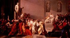 La mort de Jules César by Vincenzo Camuccini, 1798