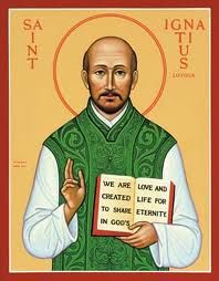 Find inspirational saint icons gifts at Monastery Icons, such as this St. Ignatius Loyola icon, patron saint of Jesuits and soldiers. Catholic Art, Catholic Saints, Patron Saints, Roman Catholic, Religious Images, Religious Icons, Monastery Icons, Ignatian Spirituality, St Ignatius Of Loyola