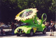 Art Car Parade.  Every year in May! Usually 200+ art cars...and it's free! It really is THE best event in Houston.