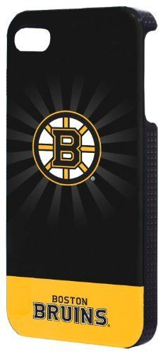 NHL Boston Bruins iPhone 4 Hard Shell Case by Pure Orange. Save 6 Off!. $24.56. Sleek, stylish, hard-shell protection for your iPhone 4. This super-slim case snaps on and stays put, surrounding your iPhone on all edges and back to protect it from scratches and short falls. Packaging includes screen protector and microfiber cleaning cloth. *Please Note: iPhone 4 not included.