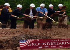 NY Firearms Maker Kahr Breaks Ground in Pennsylvania for New Factory - Among several manufacturers leaving New York state over 2013 gun law
