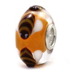 Trollbeads Unique Glass Bee