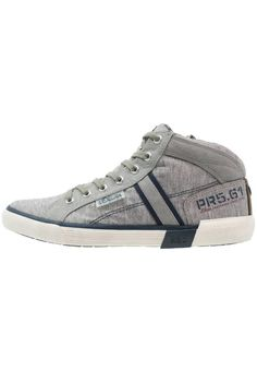 Herren s.Oliver Sneaker high grey