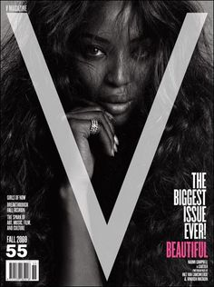 Naomi Campbell - V Magazine [United States] (September 2008)