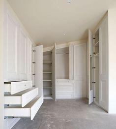 closet in attic | New Design of Attic Wardrobes for Interior Attic Furniture | Gallery ...