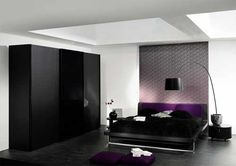 10 Glamorous and Seductive Purple Bedrooms