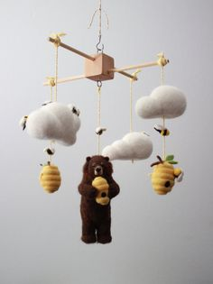 Oh dear, dear, Mr. Bear! What a sticky mess youve gotten in! Its a proven fact bears love honey (take Winnie the Pooh for example) and this little