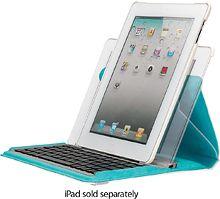 Targus - Versavu Case with Keyboard for Apple® iPad® 2 - White $99.99