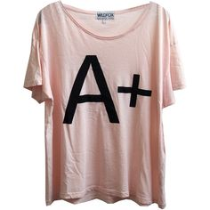 A+ Unisex Tee ($77) ❤ liked on Polyvore featuring tops, t-shirts, shirts, tees, unisex, unisex shirts, brown t shirt, shirts & tops, cotton t shirt and unisex t shirts