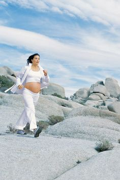 Walk This Way -- Fantastic guide to prenatal walking for exercise. Breaks it down beginner, intermediate, and advanced for all three trimesters.
