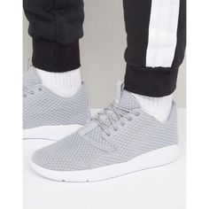 super popular e540c 1efde Nike Air Jordan Eclipse Trainers 724010-033 ( 135) ❤ liked on Polyvore  featuring men s fashion, men s shoes, men s sneakers, grey, mens lace up  shoes, ...
