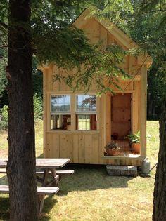 Tiny island house