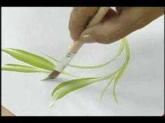 Ana Maria Guimarães - Demonstrações de Técnicas de Pintura e uso de Pincéis - Parte 3 - YouTube