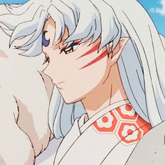Lord Sesshomaru from Inuyasha ❤ just think now is he