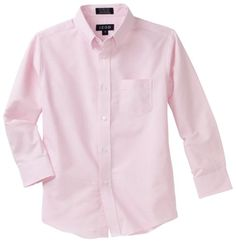 IZOD Kids Big Boys' Long-Sleeve Solid Buttondown Dress Shirt ** You can get additional details at