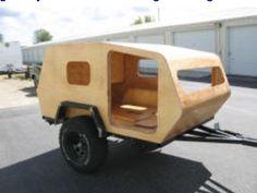 Cool homemade offroad Teardrop Camper