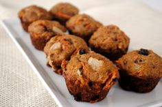 Carrot Pear Muffins | Random Recycling: Healthy Living for Modern Families