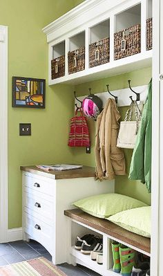 Creating a closet from a wall..