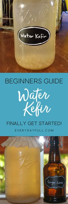 HOMEMADE WATER KEFIR - This healthy, probiotic beverage is easy to make and ready in just 24 hours. Get your hands on some kefir grains and you'll soon be enjoying naturally fermented sodas on a daily basis. We've got a huge list of trouble-shooting tips