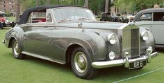 1960  Rolls-Royce Silver Cloud II Convertible Coupé by H.J. Mulliner (design 7504)
