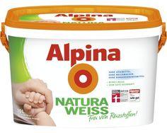 Alpina Natura Weiss Wandfarbe 10 l bei HORNBACH kaufen