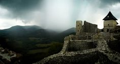 The medieval castle of Füzér, Zemplén, Hungary. Land of Fantasy III. Medieval Castle, Cathedrals, Homeland, Hungary, Castles, Mount Rushmore, Fantasy, Mountains, Gallery