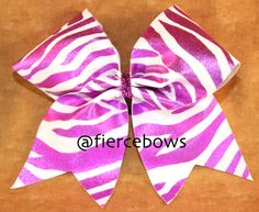 Cheer Bow on Etsy, $10.00