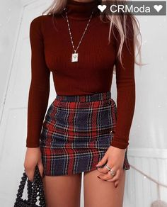 Cute School Outfits With Plaid Mini Skirt ★ Cute casual back to school outfits for teens, highschool and for college, to make your first day of school unforgettable! ★ Amazing 42 Delicate Summer Outfits Ideas To Wear Now Party Outfits For Women, Teen Fashion Outfits, Girly Outfits, Cute Casual Outfits, Look Fashion, Pretty Outfits, Fashion Ideas, Fashion Styles, Classy Outfits For Teens