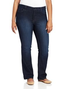 b826ccf9724 NYDJ Women s Plus-Size Hayden Straight Leg Jean
