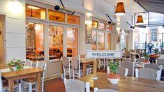#Greece #Thessaloniki #restaurant #dining Greece Thessaloniki, Team Building Activities, Greek Islands, Restaurant, Events, Dining, Home Decor, Greek Isles, Food