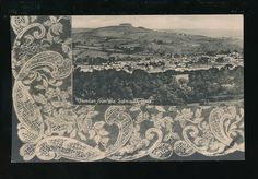 Devon HONITON from the Sidmouth Rd nice Lace border c1900/20s? PPC pub Dimond in Collectables, Postcards, Topographical: British   eBay