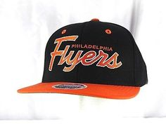 989fde50f2e (This snapback cap features an embroidered (raised) Philadelphia Flyers  logo at front