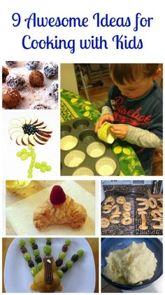 Want to get the kids more involved in the kitchen?  Try these fun ideas & kid-friendly recipes!